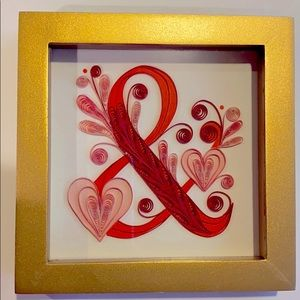 Hallmark Ampersand and Heart Box Picture
